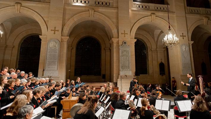 9 novembre 2019-Cathédrale des Invalides, choeur et orchestre franco-allemand
