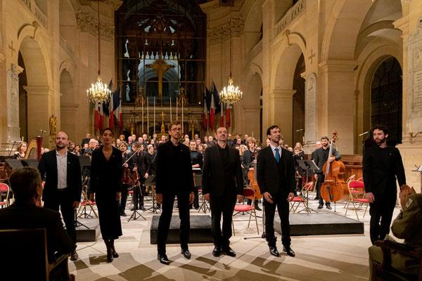 9 novembre 2019-Cathédrale des Invalides, Comédiens, solistes, Benjamin FAU