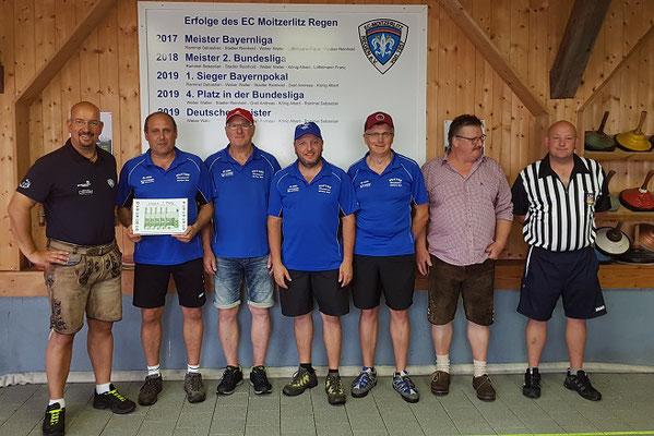 Sieger Gruppe B: SV Konzell