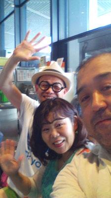 2015年6月25日 師匠:書画家:田中太山は活動の拠点を海外へ