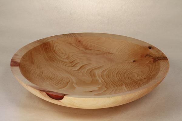 Holzart: Zirbe Durchmesser: 31cm Höhe:   7cm Oberfläche: Vaselinöl