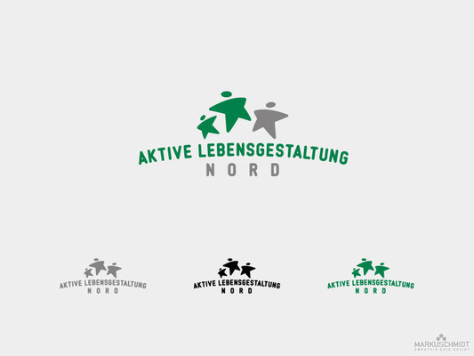 Job: Logo Design, Client: Aktive Lebensgestaltung Nord