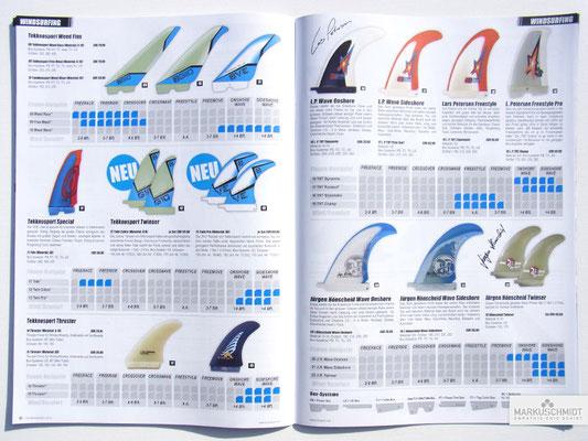 Job: Editorial, Client: TTP Brandnews Magalog (Tekkno Trading Project GmbH), Chapter: Tekknosport Windsurffins