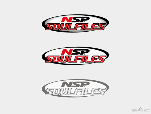 Job: Logo Design, Client: NSP Soulfiles, Agency: Seismo