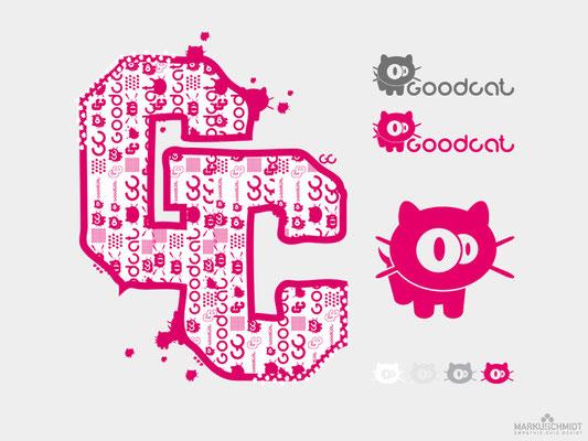 Job: Logo Design, Client: Goodcat