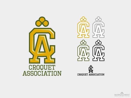 Job: Logos & Mascot, Client: Les Arrogants (Croquet Association)