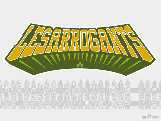 Job: Logos & Mascots, Client: Les Arrogants (Croquet Association)