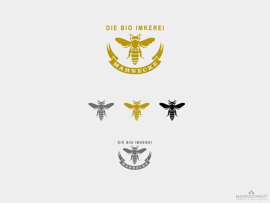 Job: Logo Design, Client: Die Bio Imkerei Mahnecke