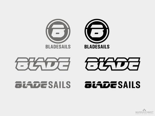 Job: Logo Design, Client: Blade Sails, Agency: Seismo
