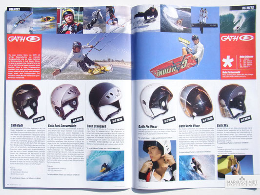 Job: Editorial, Client: TTP Brandnews Magalog (Tekkno Trading Project GmbH), Chapter: Gath Helmets