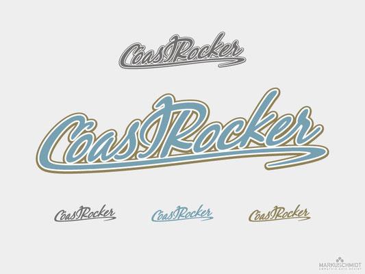 Job: Logo Design, Client: Coast Rocker