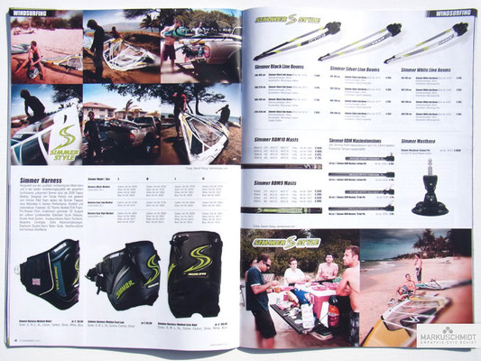 Job: Editorial, Client: TTP Brandnews Magalog (Tekkno Trading Project GmbH), Chapter: Simmer Sails