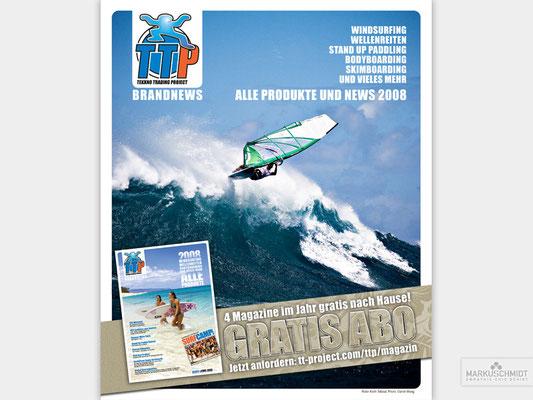 Job: Ad, Client: TTP Brandnews Magalog (Tekkno Trading Project GmbH), Photo: Darrell Wong