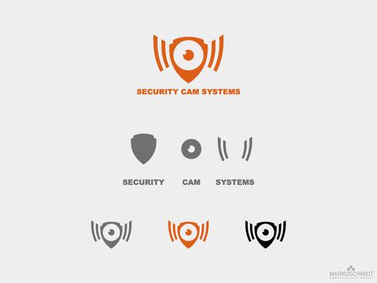Job: Logo Design, Client: Security Cam Systems
