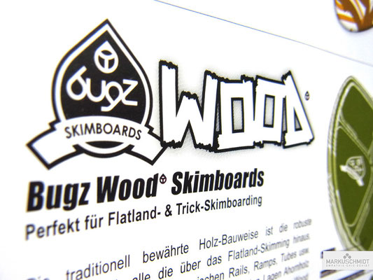 Job: Logos & Icons, Client: Bugz Skimboards