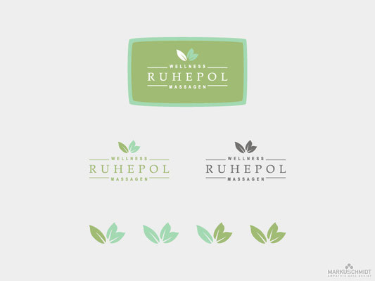 Job: Logo Design, Client: Ruhepol - Wellness Massagen