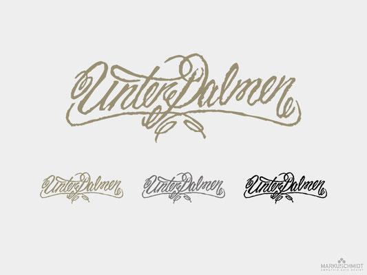Job: Logo Design, Client: Unter Palmen