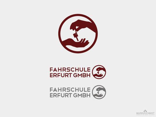 Job: Logo Design, Client: Fahrschule Erfurt