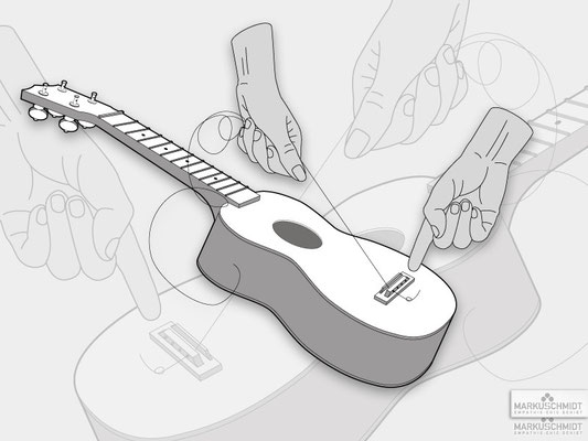 Job: Artwork, Client: Ukulele Book