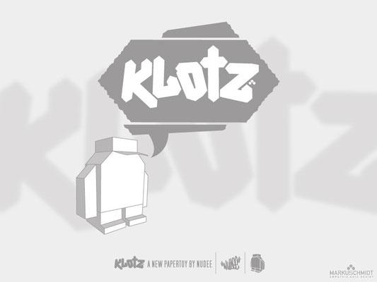 Job: Logo Design, Client: Klotz Papertoy