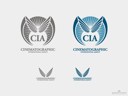 Job: Logo Design, Client: CIA - Cinematographic International Agency