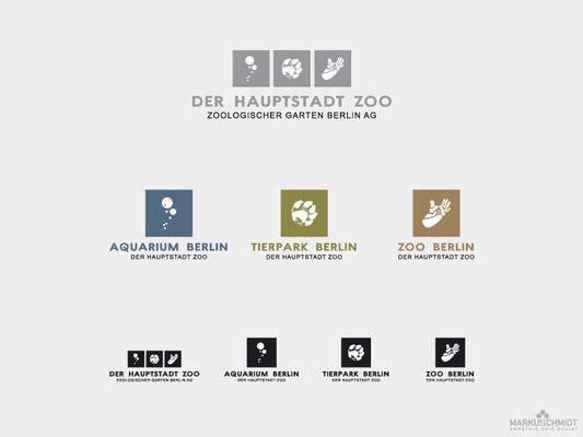 Job: Logo Design, Client: Zoologischer Garten Berlin AG, Agency: Subasic, Subasic + Partner