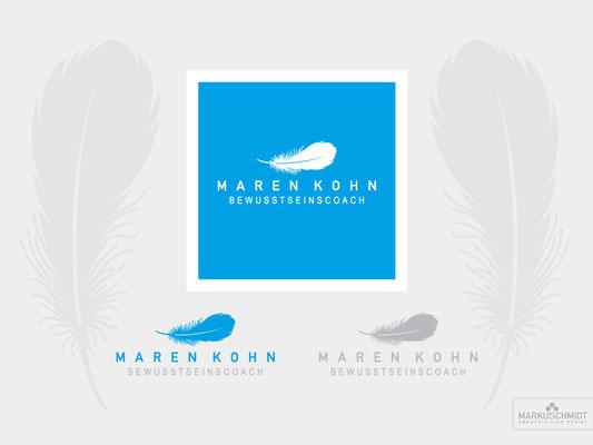 Job: Logo Design, Client: Maren Kohn Bewusstseinscoach