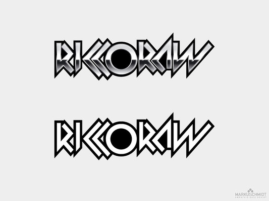 Job: Logo Design, Client: Ricco Raw