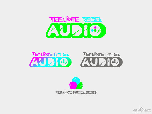 Job: Logo Design, Client: Teenage Rebel Audio