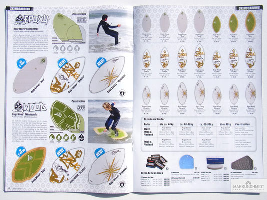 Job: Editorial, Client: TTP Brandnews Magalog (Tekkno Trading Project GmbH), Chapter: Bugz Skimboards