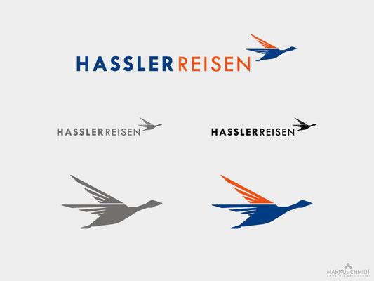 Job: Logo Design, Client: Hassler Reisen