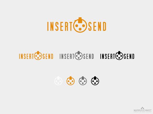 Job: Logo Design, Client: Insert Send
