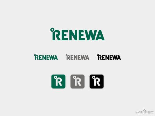 Job: Logo Design, Client: Renewa
