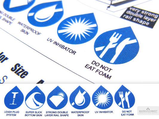 Job: Logos & Icons, Client: Bugz Bodyboards