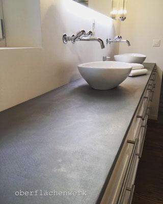 oliver `s werkstatt waschtischablage beschichtet