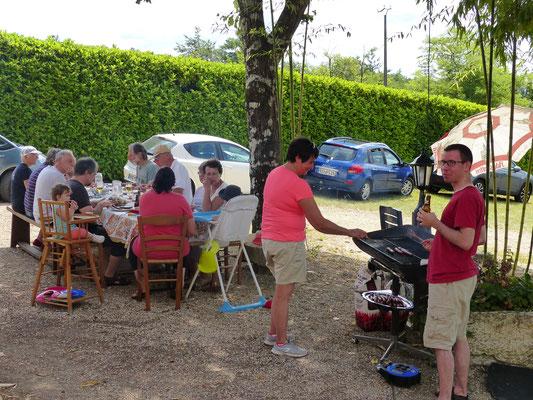 1 août : Barbecue pour le déjeuner