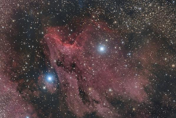 IC5070, la nébuleuse du Pélican, C14 hyperstar, 24x5min, 7 septembre 2016, Lionel