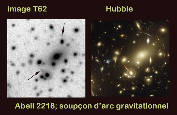 Abell 2218, Pierre