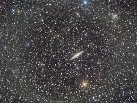 2 août : NGC 891, 12 x 2 min
