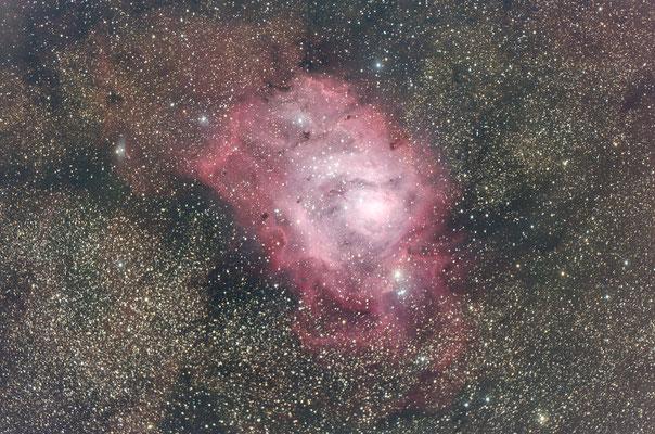 M8, la Lagune, C14 hyperstar, 20x2min, 2 août 2016, Lionel