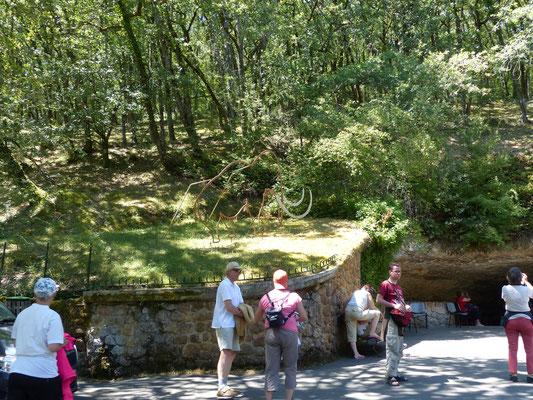 3 août : visite de la grotte de Rouffignac, ça rafraîchit !