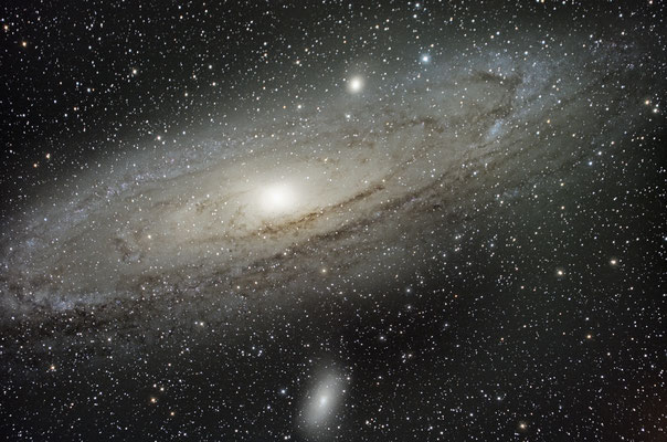 M31, 20x90s, C14 hyperstar, 2 août 2016, Lionel