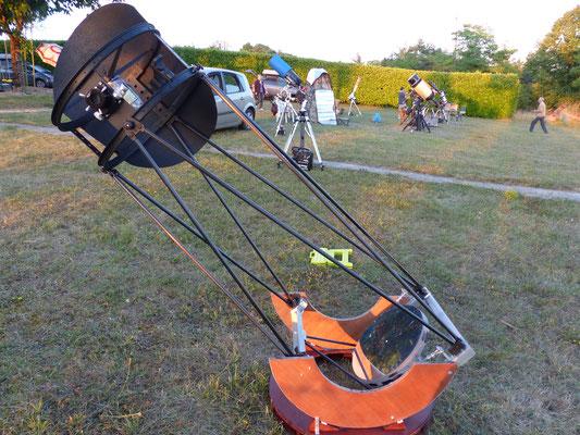 2 août : notre dobson T400 en position