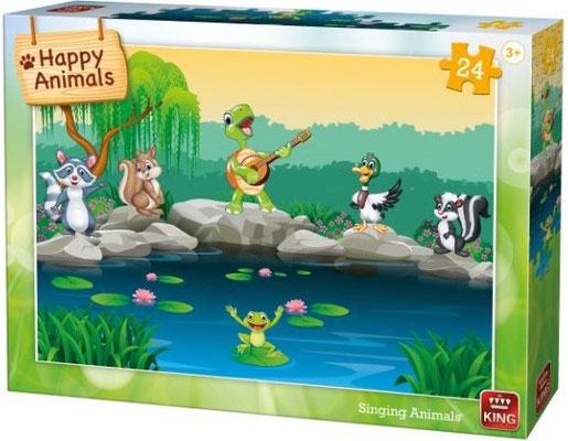 50 st. HAPPY ANIMALS  vanaf 3 jr. D 153