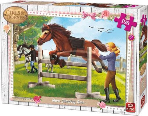 100st. GIRLS&HORSES D 085  (KING)