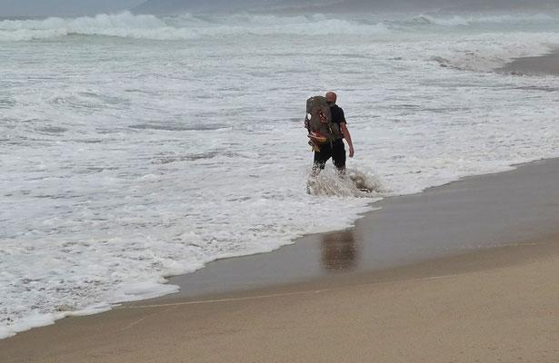Camino de la playa :)