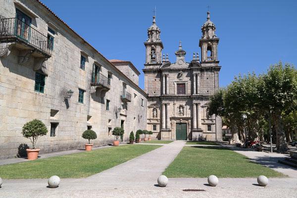 Stilvolle klosterliche Hospoderia in Poyo bei Redondela ist eine Alternative für Herberge