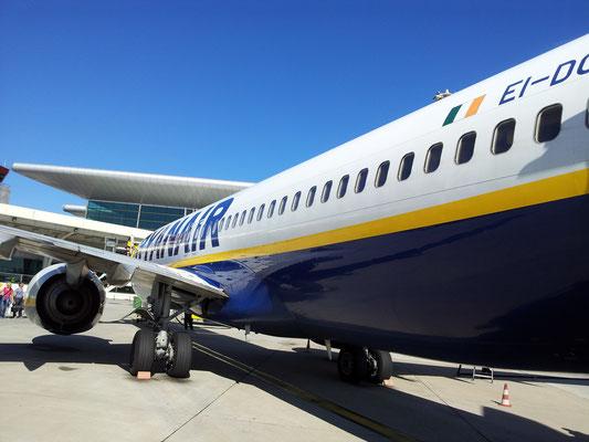 Flug von Memmingen nach Porto.