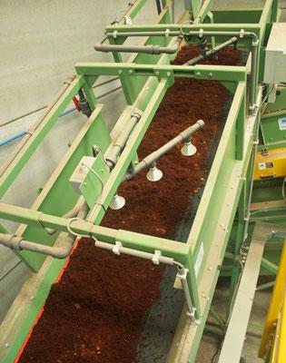 Se puede hidratar el sustrato para aumentar la humedad del producto, según requerimiento.
