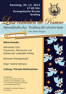 """""""Alpenländisches Weihnachts-Oratorium"""" LTG-Konzert 2014"""